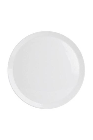 Porland Ruby Beyaz Pizza Tabak 28 Cm Renkli